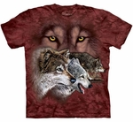 Find 9 Wolves Youth & Adult T-shirt