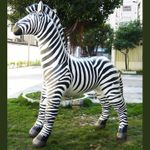 "Giant Inflatable Zebra 88"" x 80"""