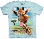 Giraffe Selfie Youth T-shirt