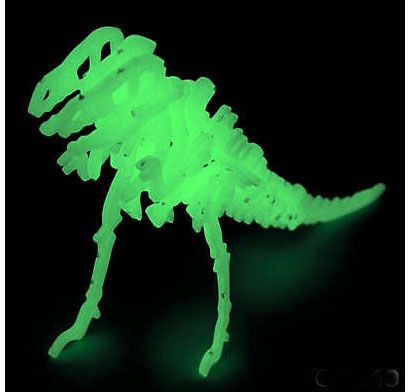Dinosaurs Glow In The Dark face mask