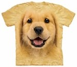 Golden Retriever Puppy Youth & Adult T-shirt