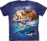 Graphic Alaska Gathering Youth T-shirt