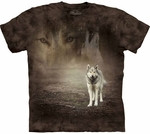 Grey Wolf Portrait Youth & Adult T-shirt