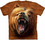 Grizzly Growl Youth & Adult T-shirt