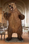 Grizzly Bear Life-Size Statue