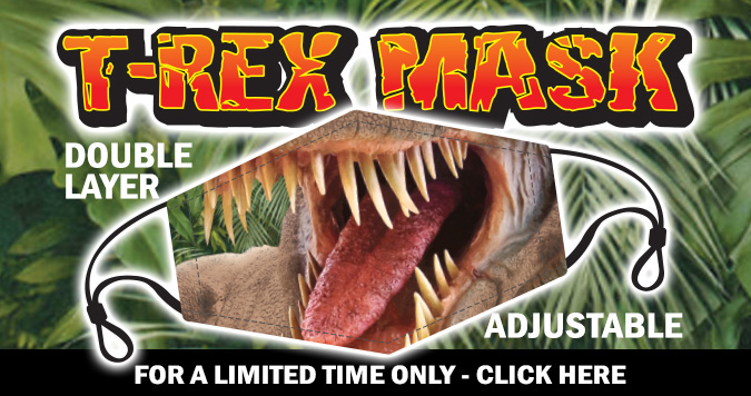 T-rex Face Mask