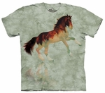 Horse Forest Stallion Adult T-shirt