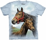 Horses Hope For The Roses Youth T-shirt