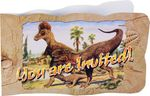 "SPECIAL OFFER Tyrannosaurus rex ""Hunting With Dinosaurs"" T-rex Invitations, 8 sets"