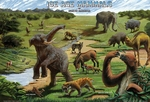 Educational Quaternary Ice Age Mammals Placemat