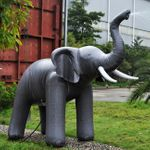 Giant Inflatable Elephant Summer Sprinkler, 118""