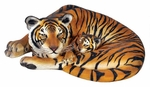 Bengal Tigress and Cub Outdoor Statue