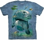 Manatees Collage Youth & Adult T-shirt
