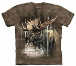 Moose Forest Adult T-shirt