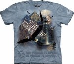 Mountaintop Freedom Adult T-shirt