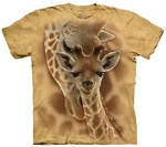 Newborn Giraffe Youth & Adult T-shirt