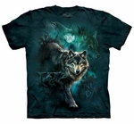 Night Wolves Collage Youth & Adult T-shirt
