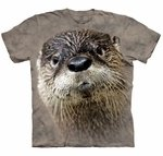 North American River Otter Adult T-shirt