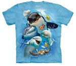 Ocean Dolpin Selfie Youth T-shirt