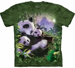 Panda Cuddles Youth & Adult T-shirt