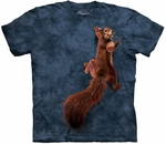 Peace Squirrel Youth & Adult T-shirt