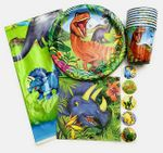 Prehistoric Jungle Party Supplies Tableware