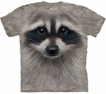 Raccoon Face Youth & Adult T-shirt