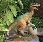 The Egg Beater Raptor Dinosaur Statue, 14""