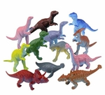 Realistic Small Dinosaur Toys Figures Play Set 3 inch