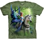 Realm of Enchantment Unicorn Adult T-shirt