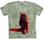 Red Panda Forest Youth T-shirt