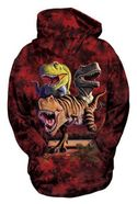 T-rex Collage Kid's Hoodie Sweatshirt