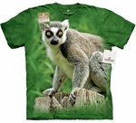 Ring Tailed Lemur Adult T-shirt