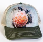 Sea Turtle Climb Trucker Hat