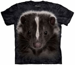 Skunk Portrait Youth T-shirt