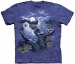 Snowy Owls Adult T-shirt
