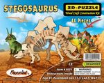 3D Stegosaurus Woodcraft Bones Skeleton Kit, 11 inch, 12 Kits