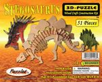 "Stegosaurus Woodcraft Bones Skeleton Kit, 16.8"" 6 Sets"