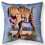 Striped Rex Throw Pillow