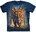 Styracosaurus Rock & Roll Dinosaur T-shirt Adult Sizes
