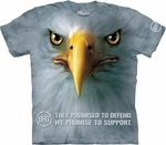 Support Eagle Adult T-shirt