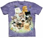 10 Kittens Adult T-shirt