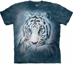 Thoughtful White Tiger Youth & Adult T-shirt