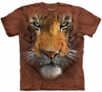 Tiger Face Youth T-shirt