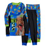 Jurassic World 4 Piece T-rex Dinosaur Pajama Set