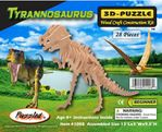 3D T-rex Wood Bones Skeletons Kits, 13 inch, 12 Kits