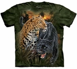 Two Jaguars Youth & Adult T-shirt