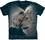 White Lions Love Youth & Adult T-shirt