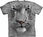 White Tiger Face Youth & Adult T-shirt