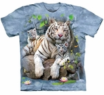 White Tigers of Bengal Youth & Adult T-shirt
